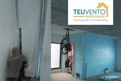 Comenzando-estructura-de-pladur-interior-en-esta-PASSIVHAUS-Coruña-Vigo