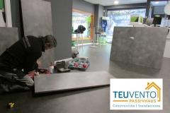Diseño, Fabricación e Instalacion de mueble a medida en un local comercial. TEUVENTO.COM. Todos los gremios en plantilla