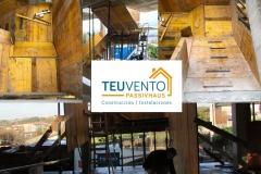 Encofrado-de-escalera-que-sale-a-cubierta-transitable-en-una-PASSIVHAUS-Coruña-Vigo