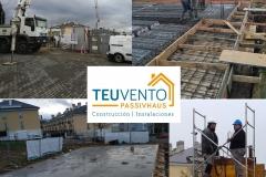 Finalizado el primer forjado en esta #PASSIVHAUS continuamos con el siguiente. TEUVENTO.COM Eficiencia Energética en Construcción e Instalaciones