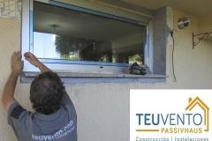 Instalando ventana