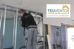 Circuito de ventilación en una Passivhaus