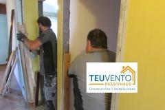 Iniciando la demolición en una reforma completa con una estimación de 12.000€ de subvención por mejora en Eficiencia Energética