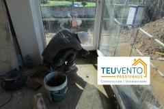 Reforzando la base de estas ventanas en una segunda fase de obra nueva. TEUVENTO.COM. Subvenciones 2019
