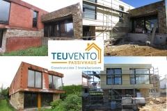 Retomando la finalización de esta vivienda en Oleiros en plazo y sin sobrecostes. TEUVENTO.COM. #Subvenciones 2019