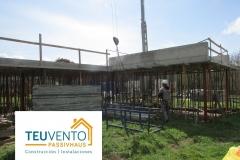 Ya-ejecutada-la-estructura-de-hormigón-en-esta-PASSIVHAUS-Coruña-Vigo