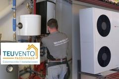 Conectando-circuito-frigoirífico-en-esta-aerotermia-de-alta-eficiencia-subvencionada-con-más-de-2500€-Coruña-Vigo