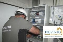 Electricidad en sala de calderas
