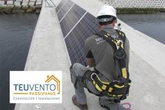 Fotovoltaica aislada en Puerto Exterior Coruña