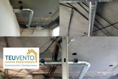 Finalizada instalación de ventilación mecánica en un local comercial de Culleredo. TEUVENTO.COM. Todos los gremios en plantilla