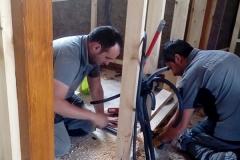 Electricidad en vivienda de madera
