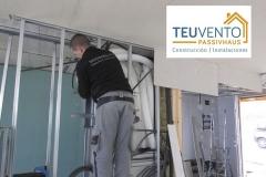 Circuito de ventilación mecánica en una Passivhaus