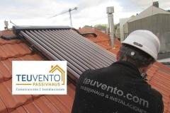 Solar térmica en cubierta