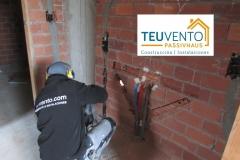 Instalación de calefacción y fontaneria en esta vivienda nueva. TEUVENTO.COM. Todos los Gremios en Plantilla