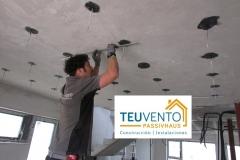 Instalaciones eléctricas en una PASSIVHAUS respetando líneas de hermeticidad. Subvenciones fotovoltaica empresas 45% en TEUVENTO