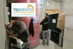 Instalando caldera de 200kW de pellets para hotel con subvención del 50% TEUVENTO.COM Eficiencia Energética en Construcción e Instalaciones