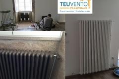 Radiadores-clásicos-a-medida-para-una-instalación-de-AEROTERMIA-de-alta-eficiencia-Coruña-Vigo