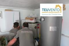 Regulando una instalación de bomba de calor TEUVENTO.COM. Eficiencia Energética en Construcción e Instalaciones