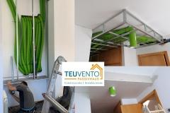 Tuberías-y-tapado-de-pladur-de-RECUPERADORDECALOR-en-vivienda-existente-Coruña-Vigo