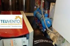 Mejora de colector en circuito de calefacción