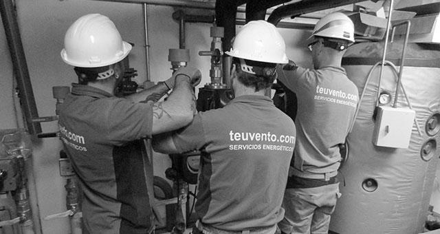 Realizamos mantenimioento e instalaciones de salas de calderas en Galicia